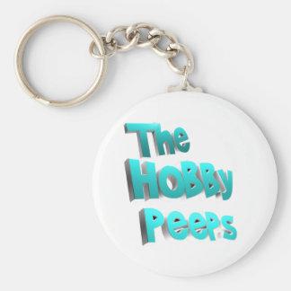 The Hobby Peeps Merchandise Basic Round Button Keychain