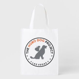 """""""The Hobo Dog Project"""" Grocery Tote Market Totes"""