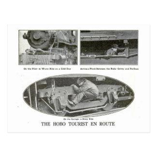 The Hobo Tourist Postcard