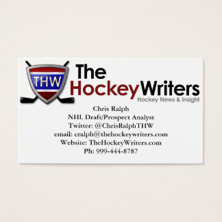 The Hockey Writers' Business Card 100 pack
