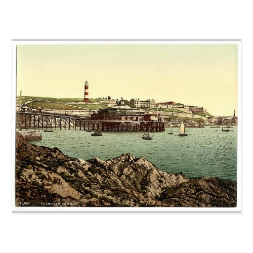 The Hoe, from the Rusty Anchor, Plymouth, England Post Cards