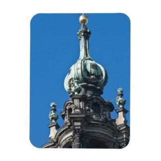 The hofkirche (Church of the Court) Dresden 2 Magnet