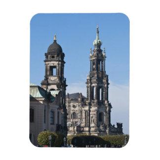 The hofkirche (Church of the Court) Dresden Magnet