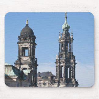 The hofkirche (Church of the Court) Dresden Mouse Pad