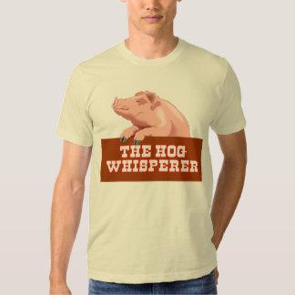 The Hog Whisperer funny T-shirt