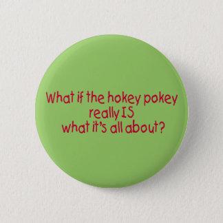 The Hokey Pokey Button