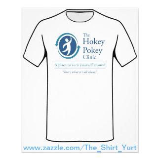 "The Hokey Pokey Clinic 4.5"" X 5.6"" Flyer"
