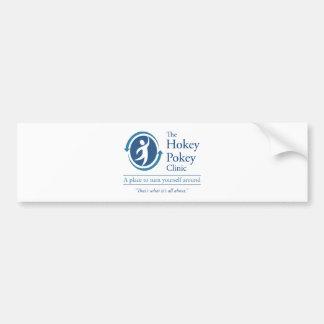 The Hokey Pokey Clinic Car Bumper Sticker