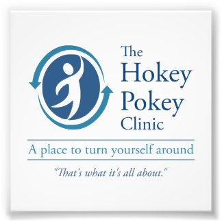 The Hokey Pokey Clinic Photographic Print