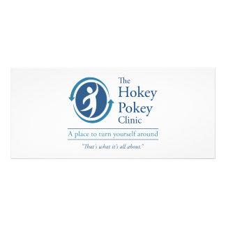 The Hokey Pokey Clinic Rack Card