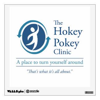 The Hokey Pokey Clinic Wall Sticker