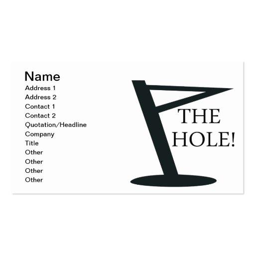 The Hole Business Card