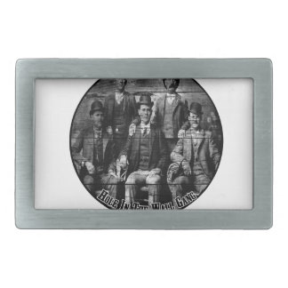 The Hole In The Wall Gang Rectangular Belt Buckle