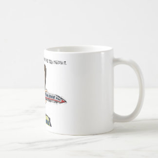 The Hole in Walker's Head Coffee Mug