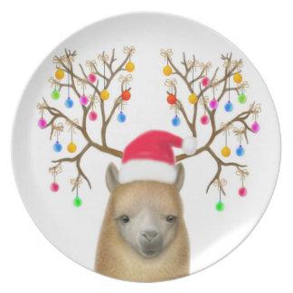 The Holiday Alpaca Plate