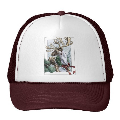 """The Holiday Courier"" Trucker Hat"