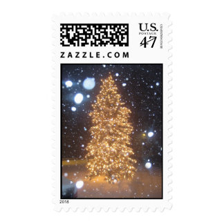 The Holiday Tree of Light Postage