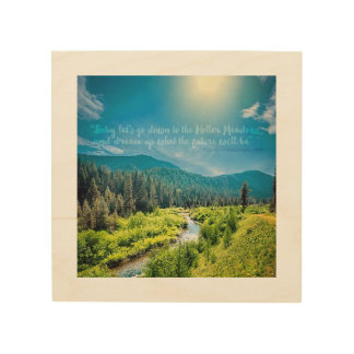 """The Holler Meadow"" Wood Wall Art"