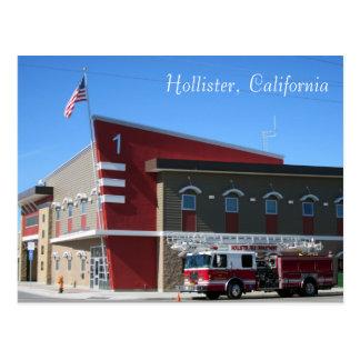 The Hollister Fire Department Postcard