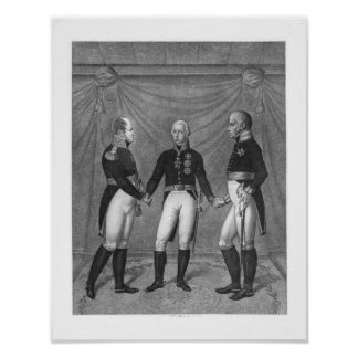 The Holly Alliance, 1815 Poster