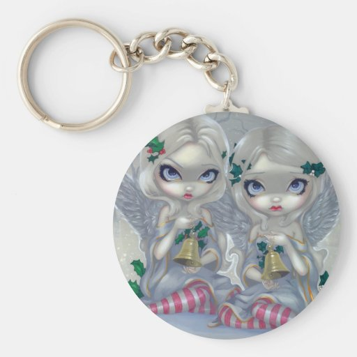 """""""The Holly and the Ivy"""" Keychain"""