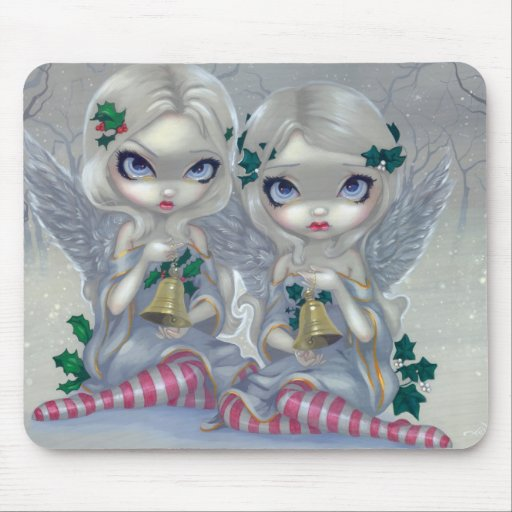 """""""The Holly and the Ivy"""" Mousepad"""