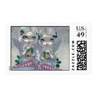 """""""The Holly and the Ivy"""" Stamp"""