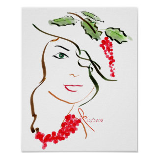 The Holly Hat Poster