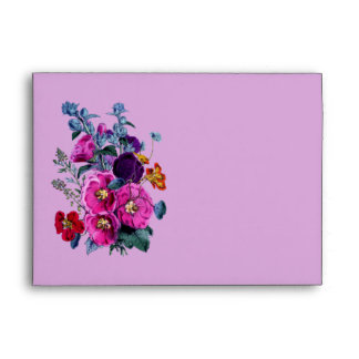 The Hollyhocks Collection Envelope