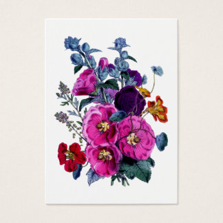 The Hollyhocks Collection Gift Tag