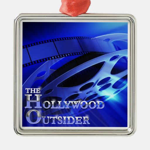 The HOllywood Outsider Christmas Ornament