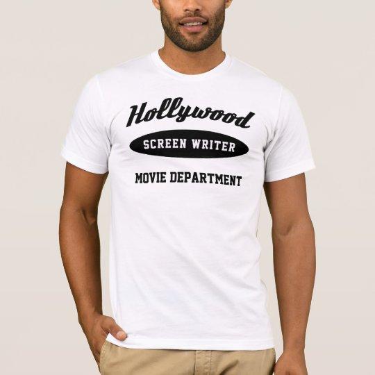 The Hollywood Screenwriter T-Shirt