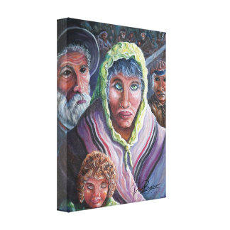 The Holocaust Canvas Print