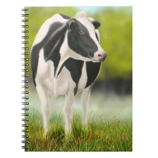 The Holstein Milking Cow Notebook