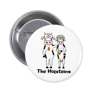 The Holsteins 2 Inch Round Button