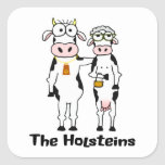 The Holsteins Square Sticker