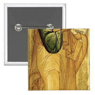 The Holy Apostle Peter, Russian icon Pinback Button