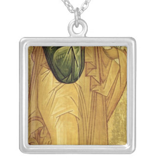 The Holy Apostle Peter, Russian icon Silver Plated Necklace