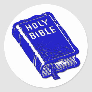 The Holy Bible Classic Round Sticker