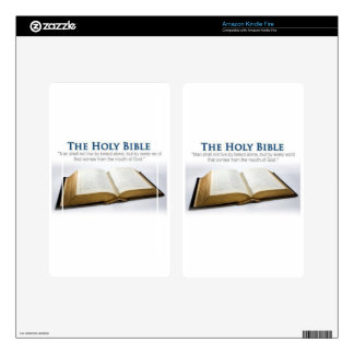 The Holy Bible Decal For Kindle Fire