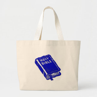 The Holy Bible Large Tote Bag