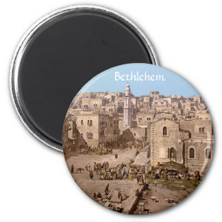 The Holy City Of Bethlehem Magnet