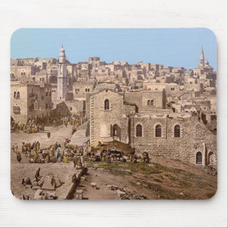 The Holy City Of Bethlehem Mouse Pad