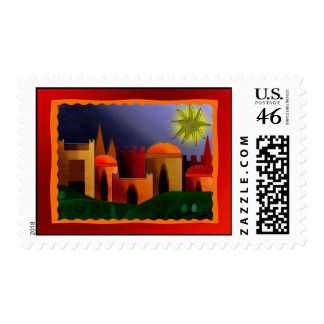 The Holy City Postage Stamps
