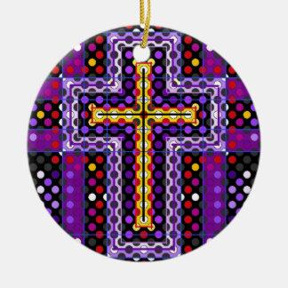 The Holy Cross Ceramic Ornament