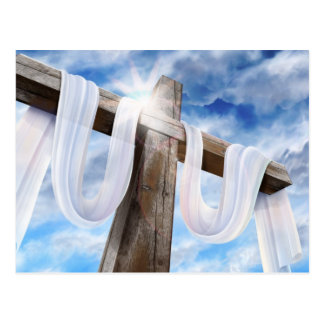 The Holy Cross - Draped in White Postcards