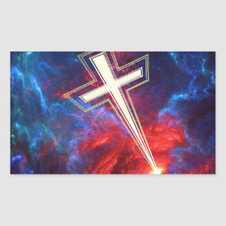 The Holy Cross out of the Heavens Sticker