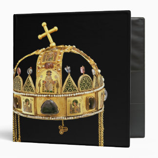 The Holy Crown of Hungary, 11th-12th century Binder
