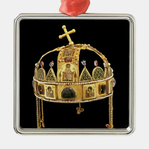 The Holy Crown of Hungary, 11th-12th century Christmas Ornament