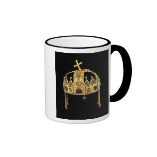 The Holy Crown of Hungary, 11th-12th century Ringer Mug